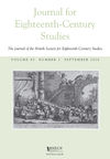 Journal for Eighteenth‐Century Studies (JECS) cover image