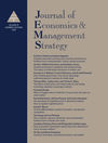 Journal of Economics & Management Strategy (JEMS) cover image
