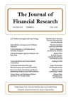 Journal of Financial Research (JFIR) cover image