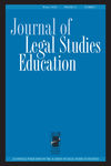 Journal of Legal Studies Education (JLSE) cover image