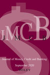 Journal of Money, Credit and Banking (JMCB) cover image