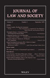 Journal of Law and Society (JOLS) cover image