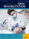 Journal of Oral Rehabilitation (JOOR) cover image