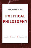 Journal of Political Philosophy (JOPP) cover image