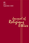 Journal of Religious Ethics (JORE) cover image