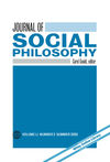 Journal of Social Philosophy (JOSP) cover image