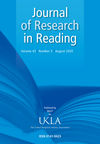 Journal of Research in Reading (JRIR) cover image