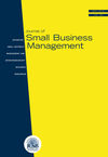 Journal of Small Business Management (JSBM) cover image