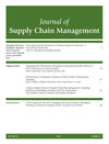 Journal of Supply Chain Management (JSCM) cover image