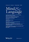 Mind & Language (MILA) cover image