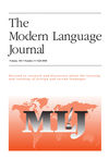 The Modern Language Journal (MODL) cover image