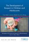 Monographs of the Society for Research in Child Development (MONO) cover image