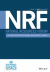 Natural Resources Forum (NARF) cover image