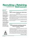 Recruiting & Retaining Adult Learners
