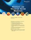 International Journal of Nonprofit and Voluntary Sector Marketing