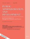 Public Administration and Development (PAD) cover image
