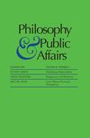Philosophy & Public Affairs (PAPA) cover image