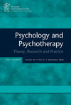 Psychology and Psychotherapy: Theory, Research and Practice (PAPT) cover image