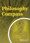 Philosophy Compass (PHC3) cover image