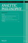 Analytic Philosophy (PHIB) cover image