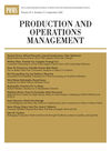 Production and Operations Management (POMS) cover image