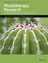 Phytotherapy Research (PTR) cover image