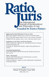 Ratio Juris (RAJU) cover image