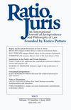 Ratio Juris (RAJU) cover image