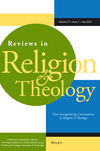 Reviews in Religion & Theology