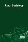 Rural Sociology (RUSO) cover image