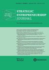 Strategic Entrepreneurship Journal (SEJ) cover image