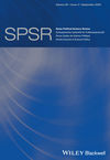Swiss Political Science Review (SPSR) cover image