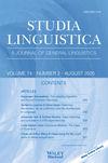Studia Linguistica (STUL) cover image