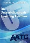 Die Unterrichtspraxis/Teaching German