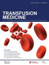 Transfusion Medicine (TME) cover image