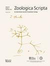 Zoologica Scripta (ZSC) cover image
