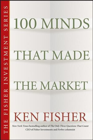 100 Minds That Made the Market (0470893400) cover image