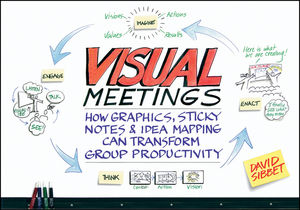Visual Meetings: How Graphics, Sticky Notes and Idea Mapping Can Transform Group Productivity (0470945400) cover image