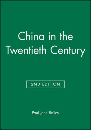 China in the Twentieth Century, 2nd Edition (0631230300) cover image