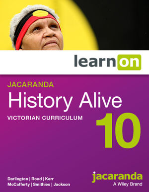 Jacaranda History Alive 10 Victorian Curriculum LearnOn (Online Purchase)
