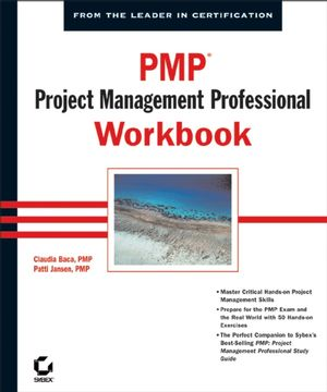 PMP®: Project Management Professional Workbook (0782142400) cover image