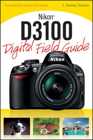 Nikon D3100 Digital Field Guide (1118023900) cover image