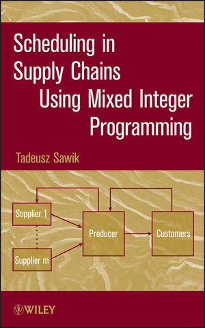 Scheduling in Supply Chains Using Mixed Integer Programming (1118029100) cover image