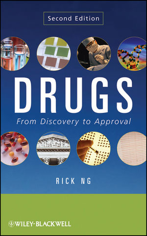 Drugs: From Discovery to Approval, 2nd Edition (1118210700) cover image