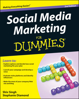 Social Media Marketing For Dummies, 2nd Edition (1118236300) cover image