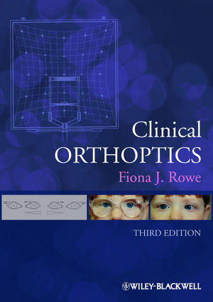 Clinical Orthoptics, 3rd Edition (1118341600) cover image
