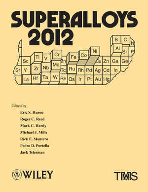 Superalloys 2012 (1118516400) cover image