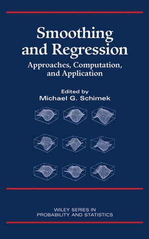 Smoothing and Regression: Approaches, Computation, and Application