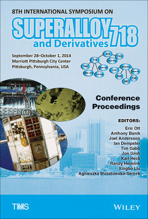 8th International Symposium on Superalloy 718 and Derivatives (1119016800) cover image