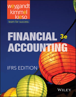 Financial Accounting: IFRS, 3rd Edition (1119153700) cover image